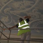 Painting a rococo ceiling